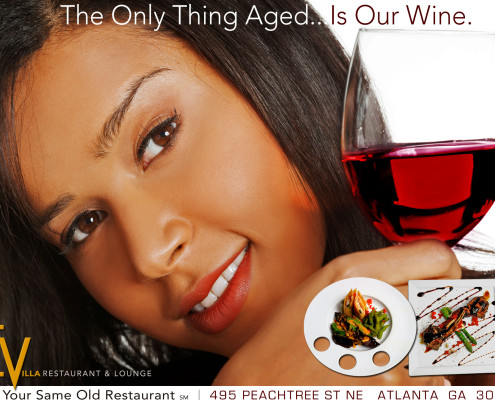 Evilla Restaurant Lounge Mt Vernon Marketing